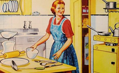 Így nézett ki a konyhánk a 80'-as években