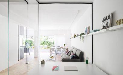 Nőiesen stílusos és elegáns ez a tel-avivi modern lakás