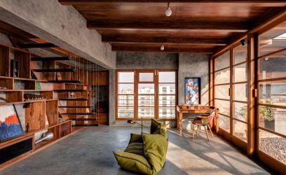 Ez a gyönyörű indiai ház bizonyítja, hogy cementvakolatból is lehet fantasztikusan építkezni