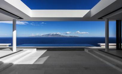 Bárcsak már nyár lenne életérzés fog el minket, ha erre a görög villára pillantunk