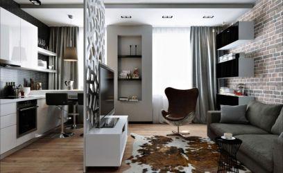 Luxus lakás 30 négyzetméteren, inkább legénylakás mint családi.