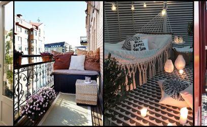 11 hangulatos ötlet az erkély és a terasz berendezéséhez