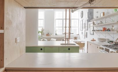 Így lesz egy ipari létesítményből egy bámulatosan menő lakás Brooklyban