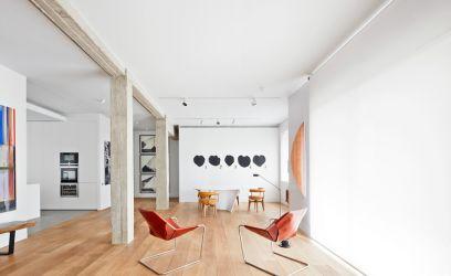 Ez a madridi lakás inkább a művészi világnak szól, de azért nekünk is nagyon tetszik