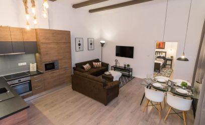 Bérbeadásra újítottuk fel ezt a budapesti lakást, de a tulajdonos látva a végeredményt, maga költözött be.