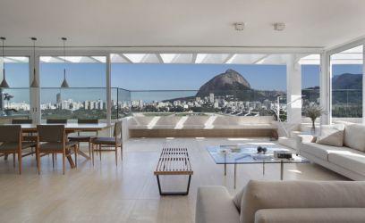 Eszméletlen kilátás erről a riói penthouse lakás teraszáról