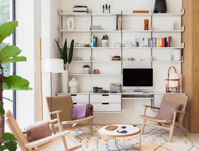 Ilyen lesz a végeredmény, ha egy spanyol lakást norvég stílusban újítunk fel.